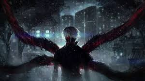 tokyo ghoul snow animated wallpaper
