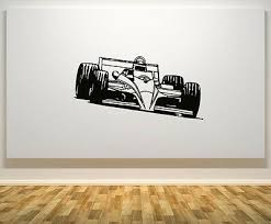 Formula One Car Racing Speed Fast F1 Wall Art Decal Sticker Picture Decorate Ebay