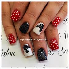 Disney Nail Art // Polished Looks By Melissa: Mickey Mouse ...