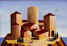 castello rosa | berardinototaro | Arte, pittura, quadri, metafisica,  dipinti, de chirico, carrà, | Il Cannocchiale blog