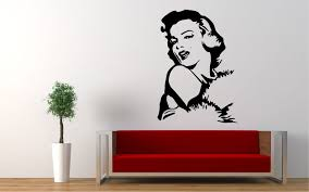 Marilyn Monroe Vinyl Sticker Wall Decal 24 X 16 Sold By Roman Graphics On Storenvy