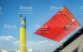 Inspection Station Pole Sign With Sticker Stock Photo Download Image Now Istock