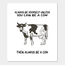 cow gifts e cow gifts affiche