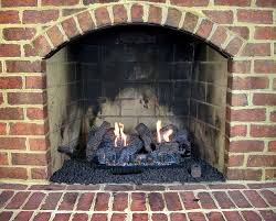 wood burning fireplace to propane