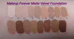 makeup forever mat velvet shade 40