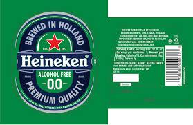 heineken beer label confusion