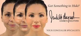 makeup tutorial covering dark circles