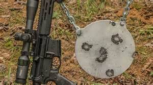 shooting or setting up steel targets