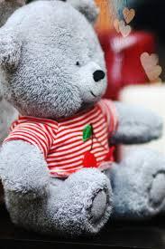 wallpaper teddy bear love hearts hazy