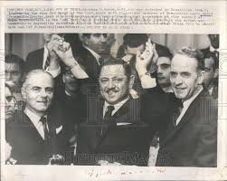 1965 Press Photo Defeated New York Mayoral Candidate Abraham Beame Pos |  Historic Images