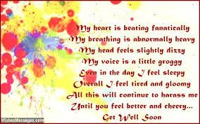 get well soon poems for boyfriend com
