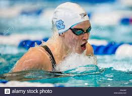 UNC swimmer Abby Fisher during the NCAA Women's Swimming and Diving Stock  Photo - Alamy