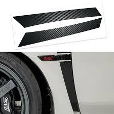 Xotic Tech 5d Carbon Fiber Style Fender Vent Overlays Vinyl Decal Trim For Subaru Wrx Sti 2015 2020 Walmart Com Walmart Com