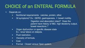 ppt choosing an enteral feeding