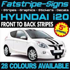 Hyundai I20 Stripes Graphics Stickers Decals Car Vinyl Active Elite 1 0 1 2 1 4 Ebay