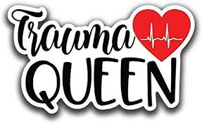 Amazon Com Trauma Queen Nurse Love Vinyl Decal Sticker Cars Trucks Vans Suvs Walls Cups Laptops 5 Inch Full Color Printed And Laminated Kcd2668 Automotive
