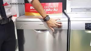 Máy rửa bát Bosch SMS25KI00E - Tính năng và cách sử dụng máy rửa bát -  YouTube