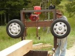 homemade band saw mill snotr