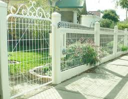 Decorative Garden Fence Icmt Set Decorative Fencing For Front Yard