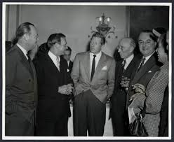 Mr. James E. Perkins, Mr. Ivan Smith, Danny Kaye and Mr. Dudley Ward 1] |  Library of Congress