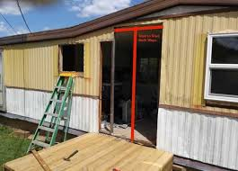 installing new mobile home doors is a