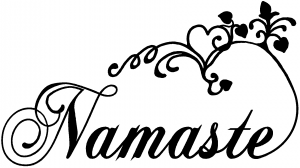 Namaste Car Or Truck Window Decal Sticker Rad Dezigns