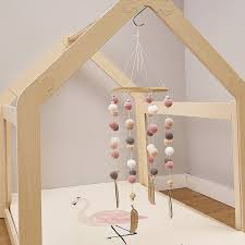 Hot Promo 426c75 Baby Nordic Style Rattles Mobile Wooden Beads Wind Chimes Bell Toys For Kids Room Bed Hanging Decor Tent Decor Photography Props Cicig Co