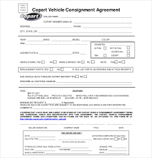 16 consignment agreement templates
