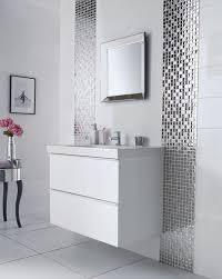 stainless steel mirror framing mosaic