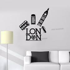 Home Furniture Diy Wall Decals Stickers Big Ben L Removable Vinyl Wall Decal Stickers Home Room Decor Art Mtmstudioclub Com