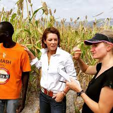 The Economy in Haiti: Stephanie Ruhle Examines in Bloomberg TV Special |  Glamour