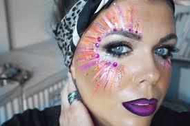 face paint festival makeup tutorial