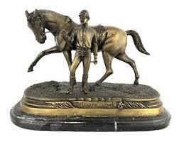 delaware park horse racing bronze