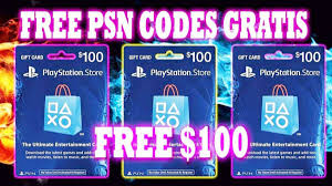 how to get free psn codes free psn