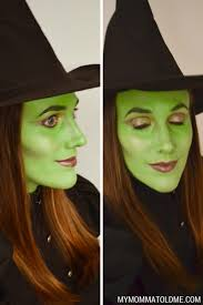 how to apply makeup for wicked witch of