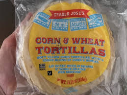 corn and wheat tortillas nutrition