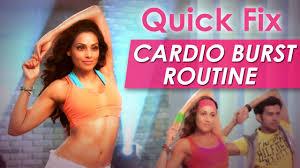 quick fix cardio burst routine fat