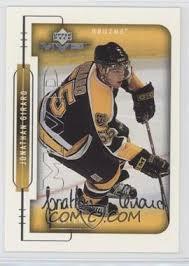 1999-00 Upper Deck MVP - [Base] - Silver Script #19 - Jonathan Girard