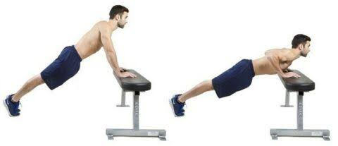 """Image result for Incline Press-up"""""""
