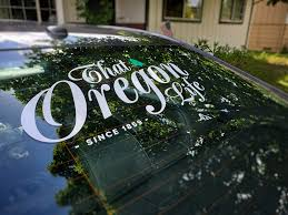 That Oregon Life Vinyl Decal That Oregon Life