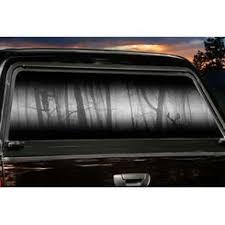 Moment Of Truth Large Rear Truck Window Tint Deergear Com Legendarywhitetails Rear Window Decals Truck Window Graphics Tinted Windows