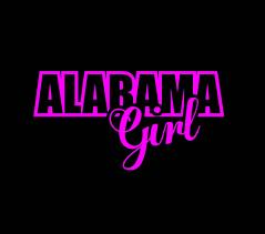 Alabama Girl Vinyl Decal Stickers Sticker Flare Llc