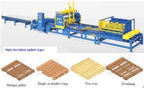 wood pallet nailing machine