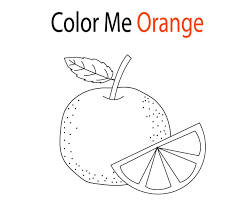 Ảnh đẹp: Tổng hợp các bức tranh tô màu quả cam đẹp nhất dành tặng cho bé -  Thư Viện Ảnh