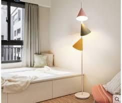 Nordic Floor Lamp Vertical Creative Living Room Coffee Table Macaron Children Room Simple Modern Bedroom Lamps Floor Lamps Aliexpress