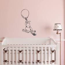 Amazon Com Winnie The Pooh Wall Decal Sticker Classic Winnie The Pooh Nursery Wall Decals Pooh Bear Piglet Nursery Baby Kids Room Wall Art Decor Q253 Home Improvement