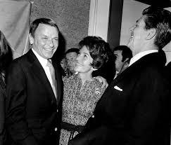 Amazon.com: Frank Sinatra with wife and Ronald Reagan Photo Print (30 x 24  ...