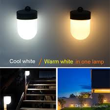 2020 Solar Powered Wall Mount Led Light Outdoor Solar Fence Light Garden Path Landscape Lamp Waterproof Yard Outdoor Lighting From Chrissy9421 8 64 Dhgate Com