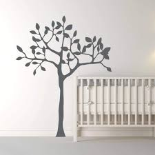 White Tree Wall Decal Tree Stickers Db222 Designedbeginnings