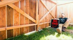 How To Build A Fence Gate No Sag Youtube